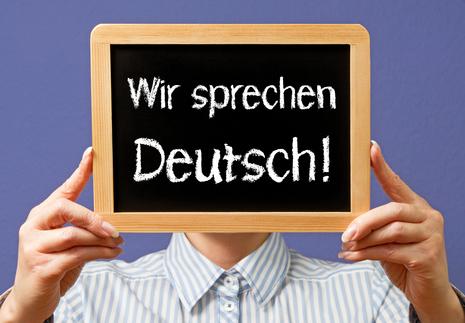 Wir sprechen Deutsch - und zwar überall ©clipdealer_2197393