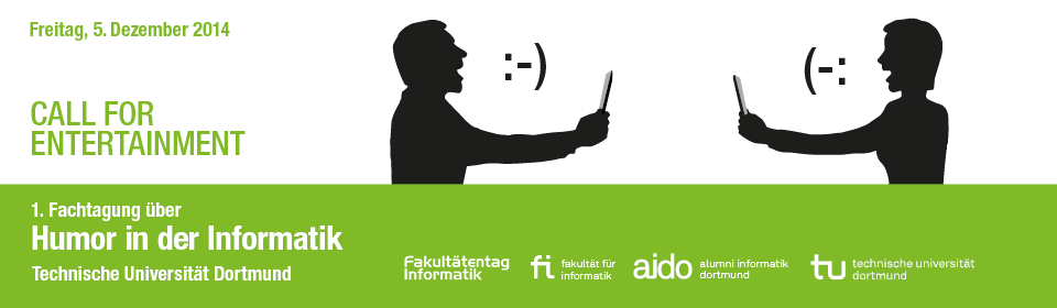 Call For Entertainment- Humor in der Informatik© TU Dortmund