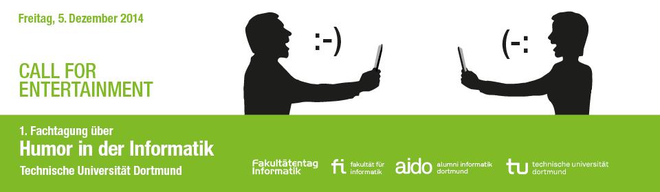 Call For Entertainment- Humor in der Informatik© TU Dortmund