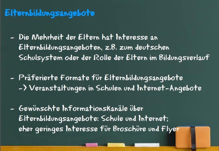 Elternbildungsangebote © Heinrich Heine Universität 2015