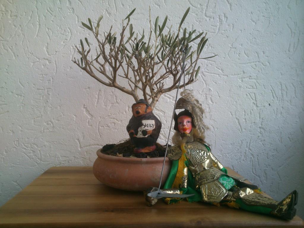 Rinaldo, Ritter und Retter der Olivenbäume ©Marcello Buzzanca