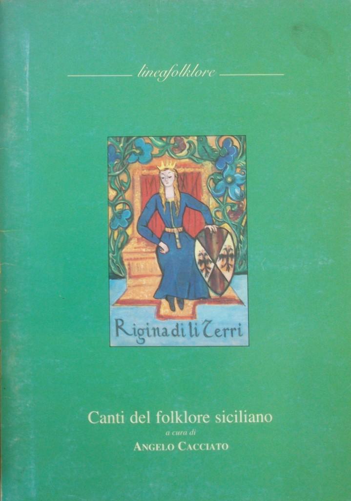 Canti del folklore siciliano_Angelo Cacciato