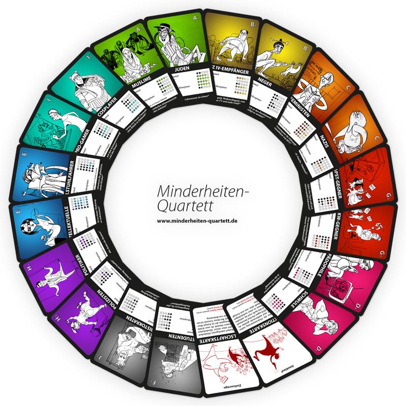 Minderheiten-Karussell dreht sich ©minderheiten-quartett.de