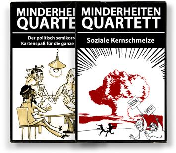 Minderheiten-Quartett-Set ©minderheiten-quartett.de