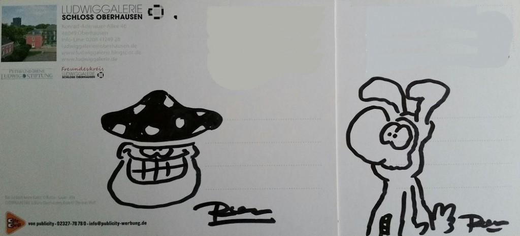 Autogramme der Authentizität ©Ralph Ruthe