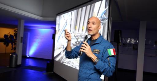 Sizilien liegt im All: Ein Abend mit Luca Parmitano
