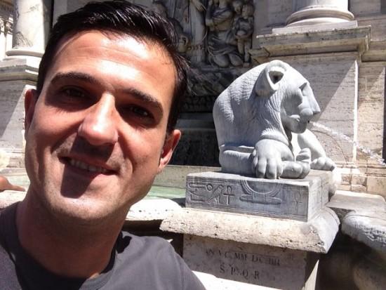 Fontana di Mosè Roma