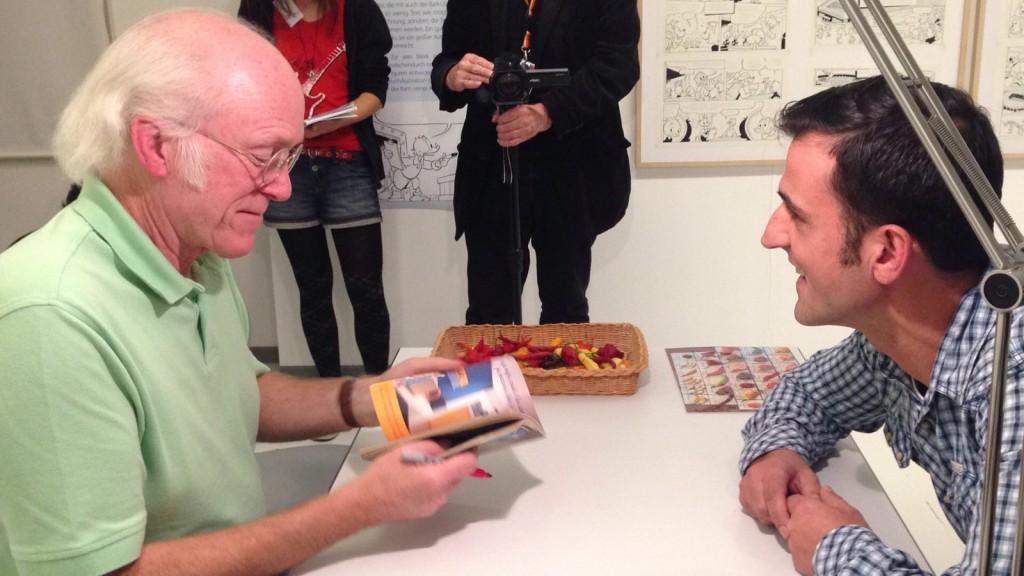 Don Rosa, Marcello Buzzanca und Topolino_Oberhausen, 2016