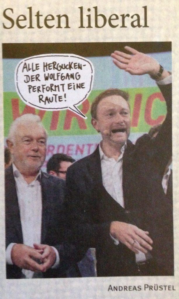 Kubickis Raute ©Eulenspiegel