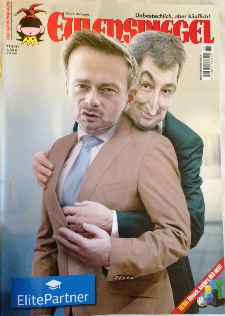 Trennbar glücklich in 11/2017 ©Eulenspiegel