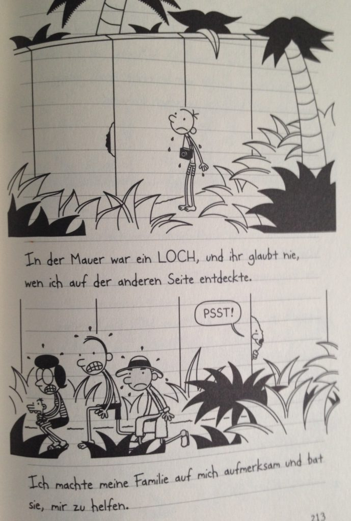 Kinney_Gregs Tagebuch_12_Gregs Mild-Side-Mauer_2 ©Baumhaus Verlag_Bastei Lübbe