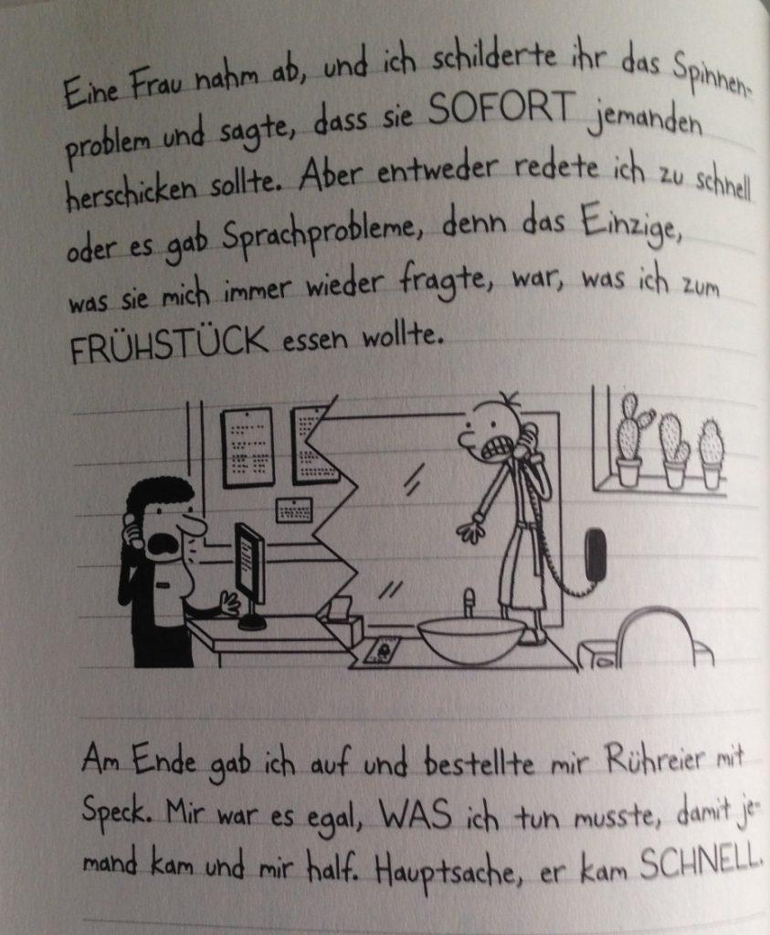 Kinney_Gregs Tagebuch_12_Gregs Sprachbarrieren ©Baumhaus Verlag_Bastei Lübbe